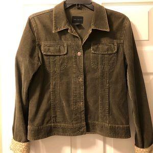 Corduroy olive green jacket
